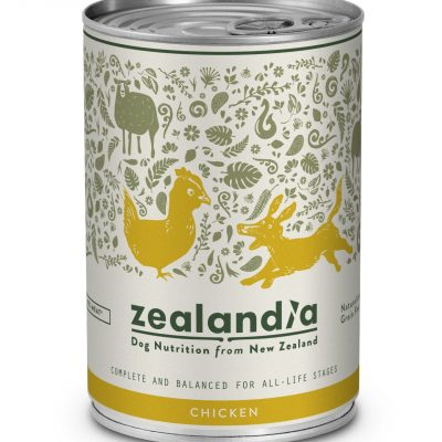 Ethically sourced pet food made from free range chicken