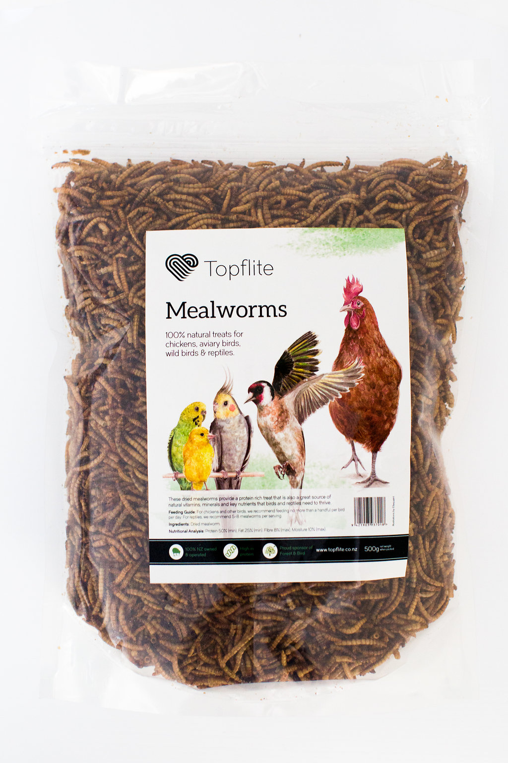Dried Mealworms - Wholesale
